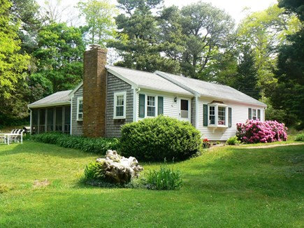East Orleans Cape Cod vacation rental - A cozy house close to the beach on a half acre.