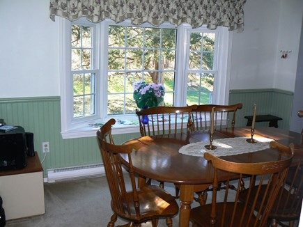 East Orleans Cape Cod vacation rental - Separate dining room seats 6+ & has child booster seat available.