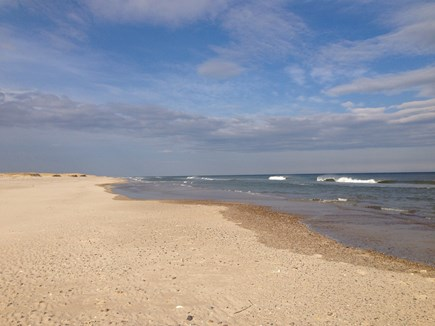 East Orleans Cape Cod vacation rental - Beautiful Nauset Beach is less than a mile away!