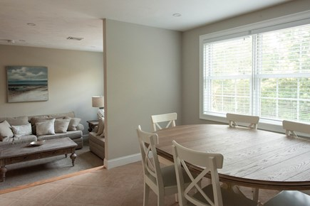 Dennis, Mayflower Beach Cape Cod vacation rental - Second Floor Dining Area looking into Den