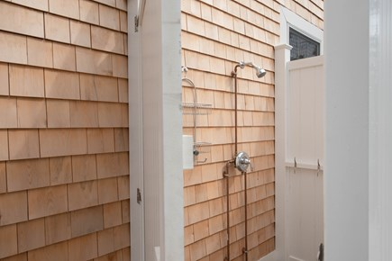 Dennis, Mayflower Beach Cape Cod vacation rental - Outdoor Fully enclosed Shower