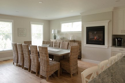 Dennis, Mayflower Beach Cape Cod vacation rental - First Floor Dining Area-Sits 12