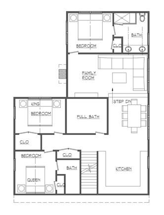 Dennis, Mayflower Beach Cape Cod vacation rental - Second floor-master & bath-new renovation