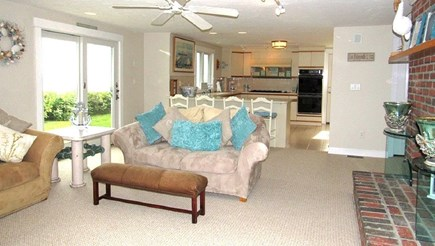 Falmouth Cape Cod vacation rental - Fam rm open to kitchen for creating summer fare