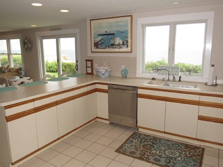 Falmouth Cape Cod vacation rental - Chefs kitchen w/ incomparable view for creating summer memories