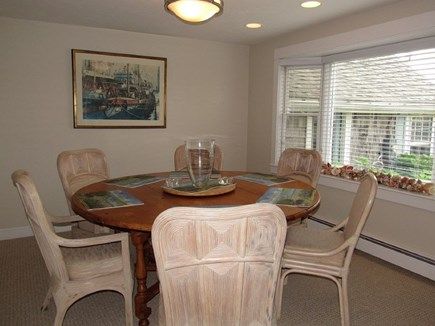 Falmouth Cape Cod vacation rental - Weathered wicker Dining room