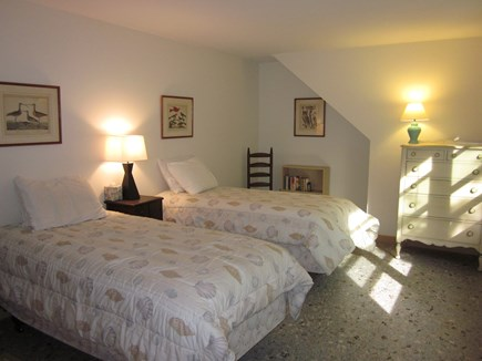 Cotuit Cotuit vacation rental - Second twin room upstairs over looks the view to the water.