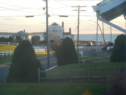 West Yarmouth Cape Cod vacation rental - This is the view of the Bay from the living room window.