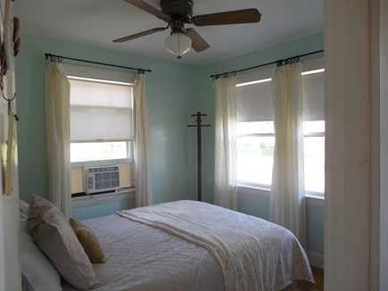 West Yarmouth Cape Cod vacation rental - Queen Bedroom, front of house faces street.