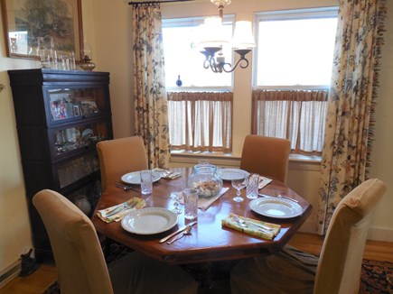 West Yarmouth Cape Cod vacation rental - Dining for six. (leaf not shown)