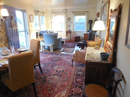 West Yarmouth Cape Cod vacation rental - The open 27' x 15' living room has 6 large windows, and is Sunny!