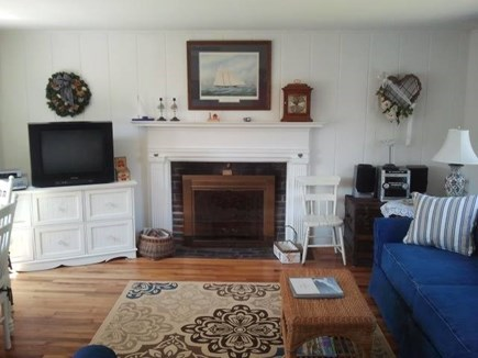 Chatham Cape Cod vacation rental - Fireplace... and