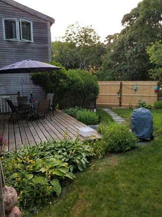 Brewster Cape Cod vacation rental - Deck for dining