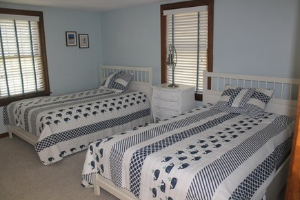 Eastham Cape Cod vacation rental - Bedroom with two full beds