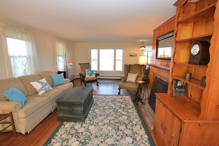 Orleans Cape Cod vacation rental - Open living room with beautiful views of Town Cove