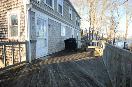 Orleans Cape Cod vacation rental - Spacious deck perfect for family barbecues