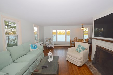 Orleans Cape Cod vacation rental - Living and dining with views over Town Cove