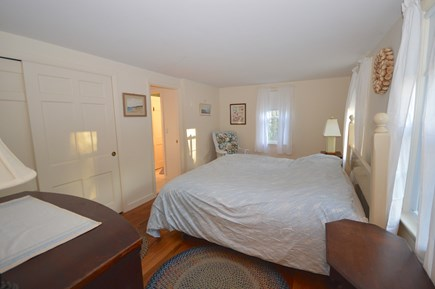Orleans Cape Cod vacation rental - Bedroom 1 - sunny king bedroom on main level with AC