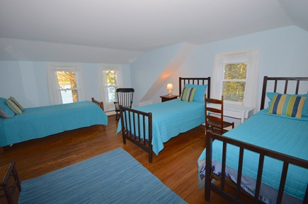 Orleans Cape Cod vacation rental - Bedroom 2 - will be 3 twins with AC and water views