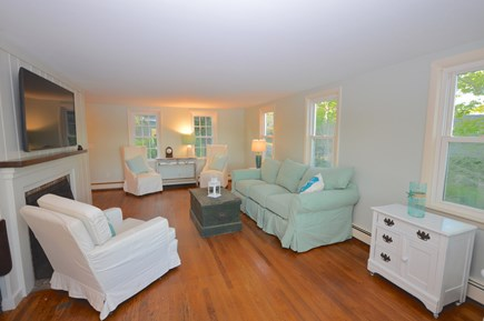 Orleans Cape Cod vacation rental - Living room with flat screen TV and brand new furnishings