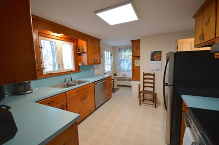 Orleans Cape Cod vacation rental - Full kitchen with brand new appliances, back deck access, views