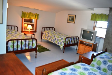 Eastham Cape Cod vacation rental - Bedroom #4 Second Floor Now Updated With Flat Screen TV