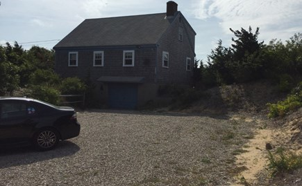 Eastham Cape Cod vacation rental - Street Side View of House Lots of Parking For Cars and Boats