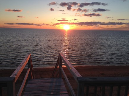 Eastham Cape Cod vacation rental - View From Sunset Deck