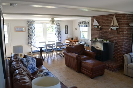 Eastham Cape Cod vacation rental - Living Room With Pullout Couch