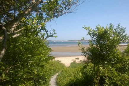 Hyannis Cape Cod vacation rental - Path to Private Beach