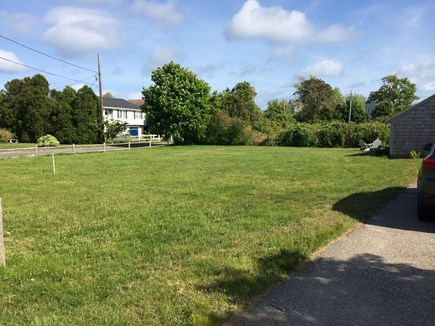 Hyannis Cape Cod vacation rental - Huge, level, grassy yard