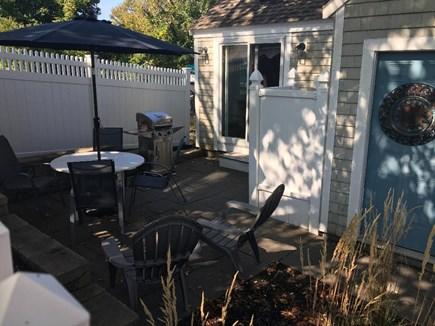 North Truro Cape Cod vacation rental - Private Patio Area