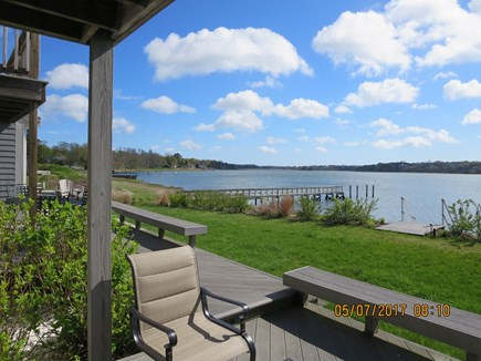 Orleans and Eastham Border Cape Cod vacation rental - View of Town Cove from the main deck