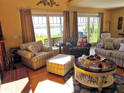 Orleans and Eastham Border Cape Cod vacation rental - Living room