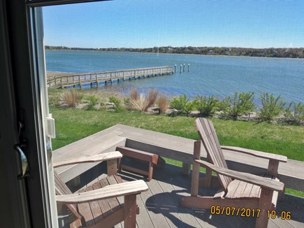 Orleans and Eastham Border Cape Cod vacation rental - View from Downstairs Master Bedroom