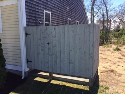 Eastham Cape Cod vacation rental - Enclosed Outdoor Shower