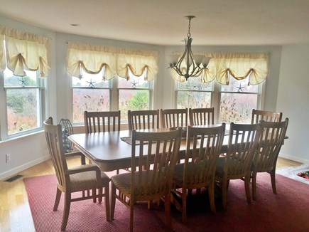 Orleans Cape Cod vacation rental - Dining area.  More tables and chairs avail. Breakfast Bar seats 4