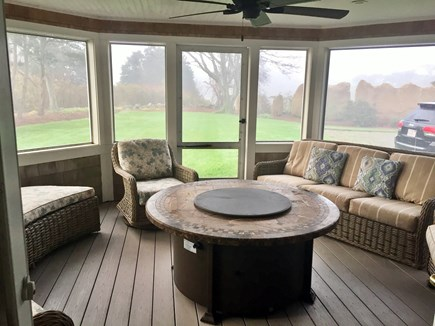 Orleans Cape Cod vacation rental - Screened porch.