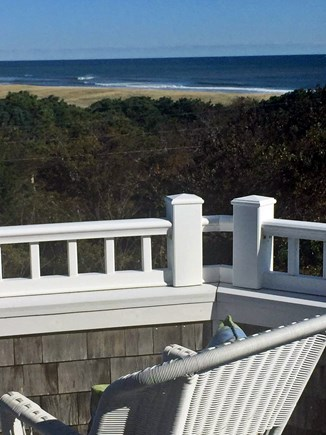Orleans Cape Cod vacation rental - Private Deck off Master Bedroom with ocean views