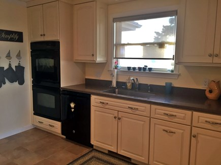 Orleans Cape Cod vacation rental - Other Half of Kitchen.  Double Oven.  Dishwasher.