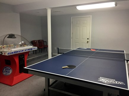 Orleans Cape Cod vacation rental - Ping Pong and Bubble Hockey.