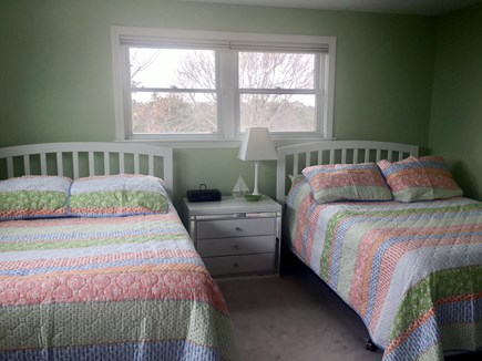 Orleans Cape Cod vacation rental - Bedroom with two full beds.  Shared bath.