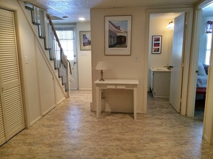 Chatham Cape Cod vacation rental - Family Room, Full Bath with Shower & 4th Bedroom with 2 Twin Beds