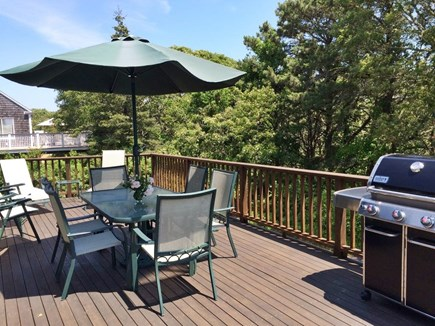Chatham Cape Cod vacation rental - Grilling on the Deck - Perfect at the end of a great beach day.