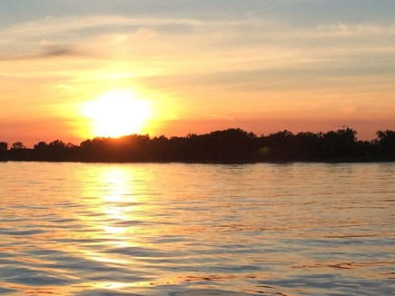 Chatham Cape Cod vacation rental - Sunset on a wonderful day.