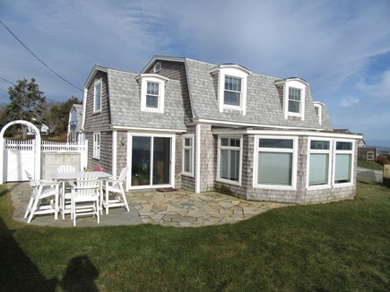 Dennis Cape Cod vacation rental - Rear partial view of home