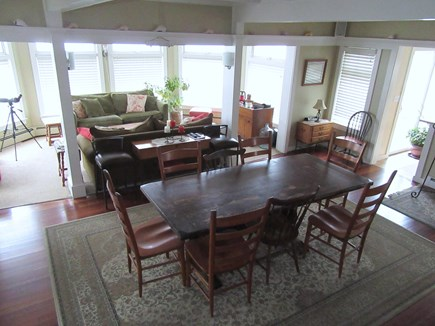 Dennis Cape Cod vacation rental - View of dining & living towards water