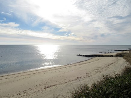 Dennis Cape Cod vacation rental - Even in winter the beach is just gorgeous.