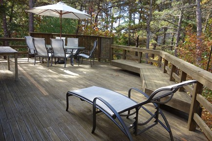 Wellfleet Cape Cod vacation rental - Enjoy the deck for dining and relaxing