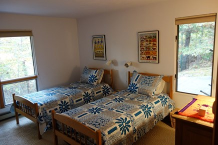Wellfleet Cape Cod vacation rental - 4th bedroom with twin beds